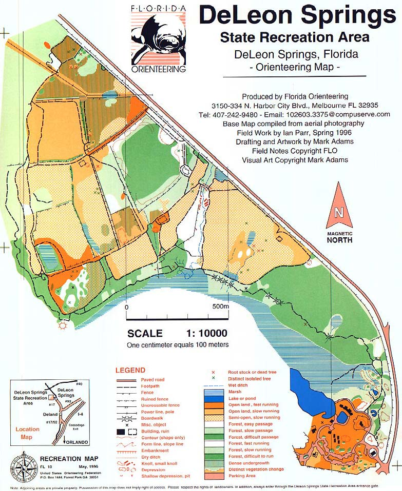 St Map Orienteering Park Edward S