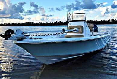 2017 Sportsman 227 Masters Florida Panhandle Charters fishing boat