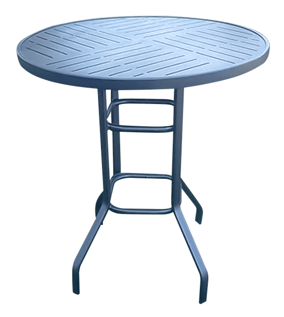 rb 36punch 36 all aluminum bar height table