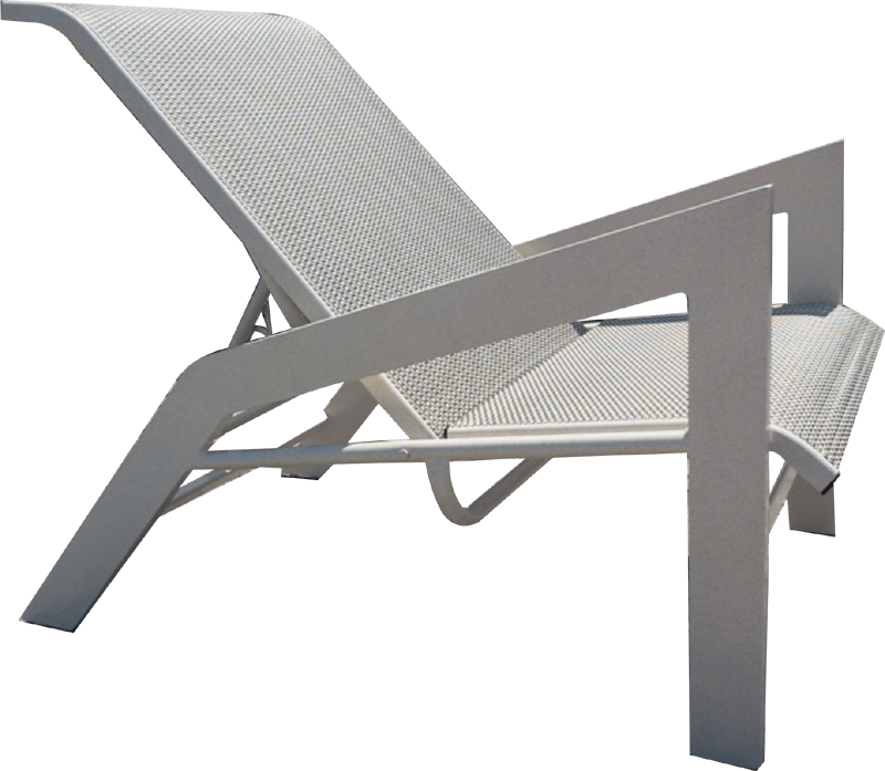 sling recliner chair h 90