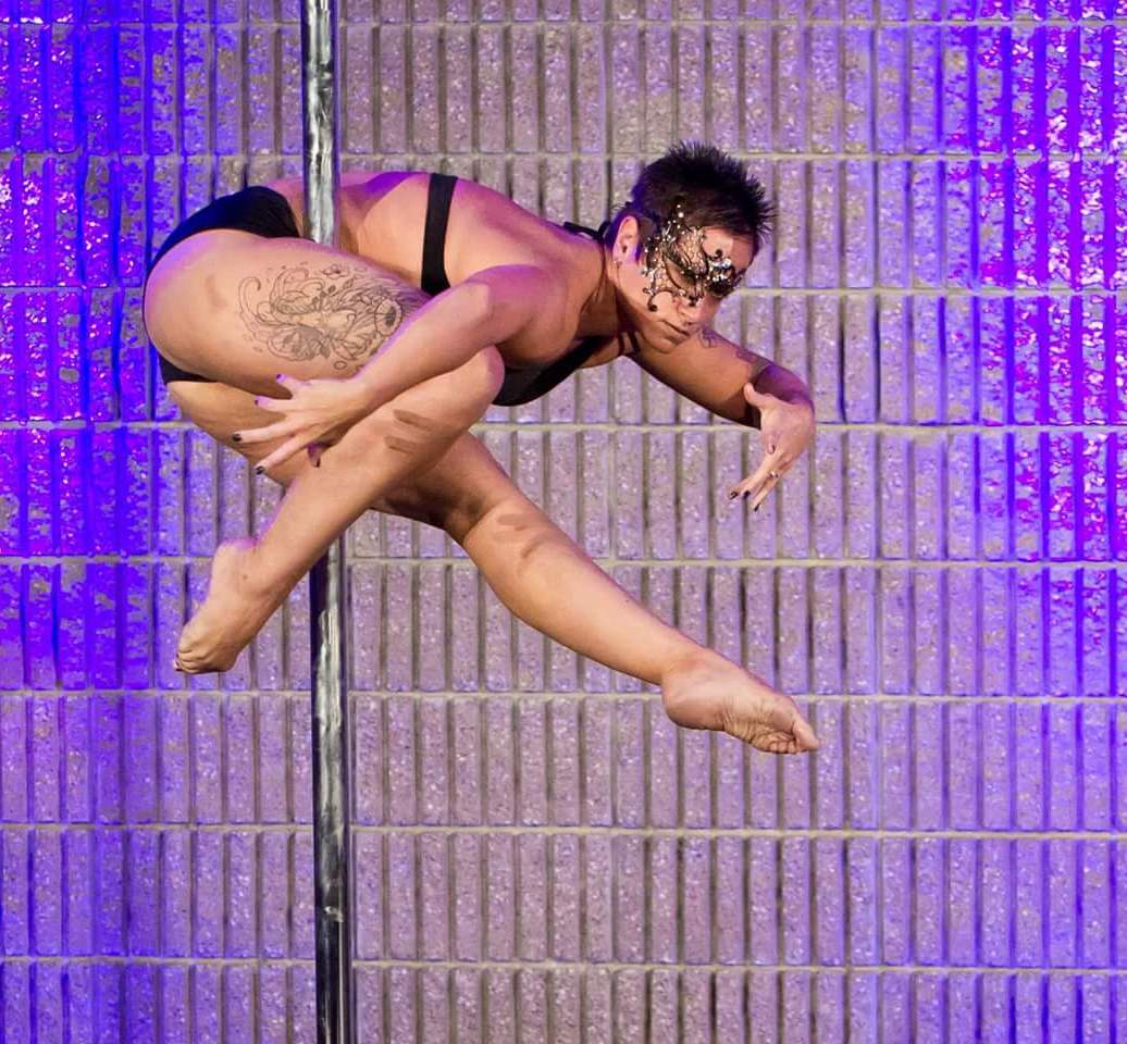 """Jaime Barclay. Jamie has a background in gymnastics, figure skating, and personal training. She fell in love with the art of pole In 2011, as it allows her to utilize her strength and flexibility in creative ways. Jamie began performing in various showcases both in Denver and Florida and recently performed in Florida's """"Pole for a Purpose"""" fundraiser event. This will be her 3rd competition."""