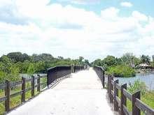 Bridge over Roberts Bay, Legacy Trail
