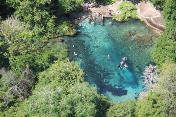 Florida S Best Tubing Ichetucknee Springs State Park Near