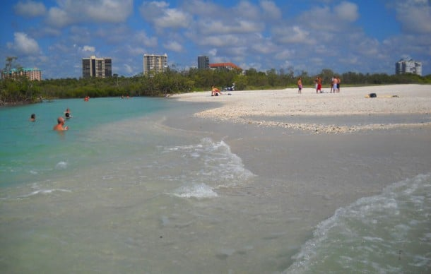 Clam Pass Beach Park in Naples, Florida