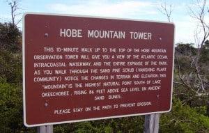 Jonathan Dickinson State Park Hobe Mountain