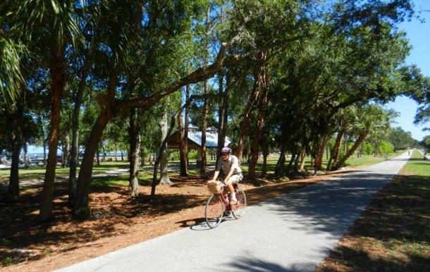 Bike Trails Treasure Island Florida