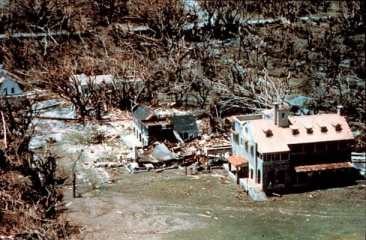 Deering Estate after Hurricane Andrew, Aug. 24, 1992