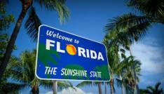 florida welcome sign