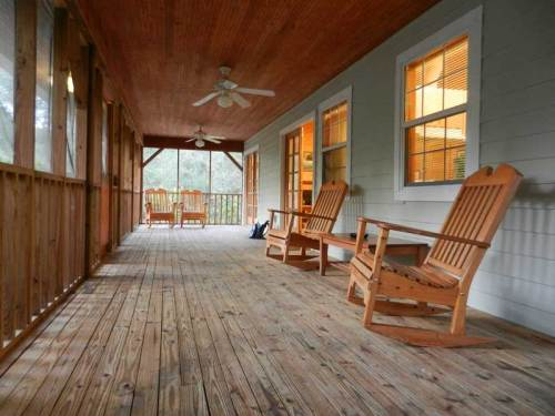 Silver Springs State Park cabin porch