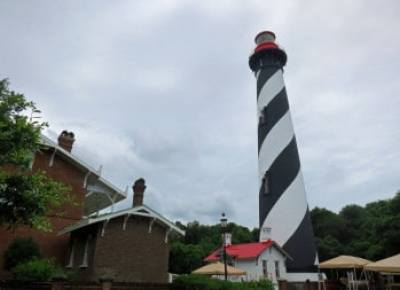 The St. Augustine Lighthouse, the second highest in the state, offers spectacular views. There's a history museum in the lighthouse keeper's quarters. (Photo: Bonnie Gross)