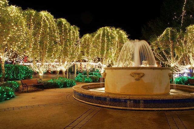 mount dora christmas lights festival