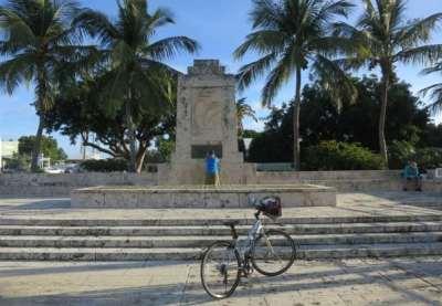 The Hurricane Memorial in Islamorada is an interesting stop along the Florida Keys Overseas Heritage Trail.