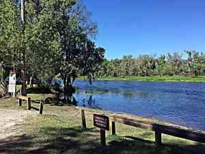 Katie's Landing on the Wekiva River