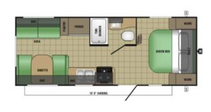 travel trailer layout