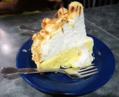 The Coconut Meringue Pie is the most popular at Front Porch Restaurant and Pie Shop in Dunnellon. (Photo: David Blasco)
