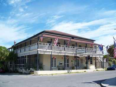 Cedar Key Island Hotel on Florida's Gulf coast