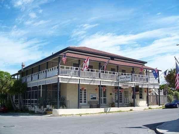 Cedar Key Island Hotel on Florida's Gulf coast