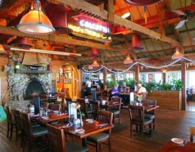 Lovers of Old Florida will want to have lunch at the Dolphin Bar & Shrimp House.