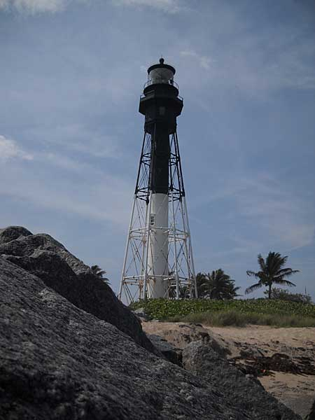 Hillsboro Lighthouse in Broward County, Florida