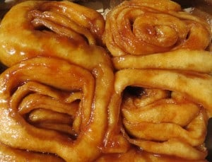 Cinnamon rolls at Knaus Berry Farm in Homestead: 80 cents each and irresistible.