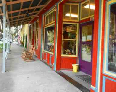 Micanopy antique shop.