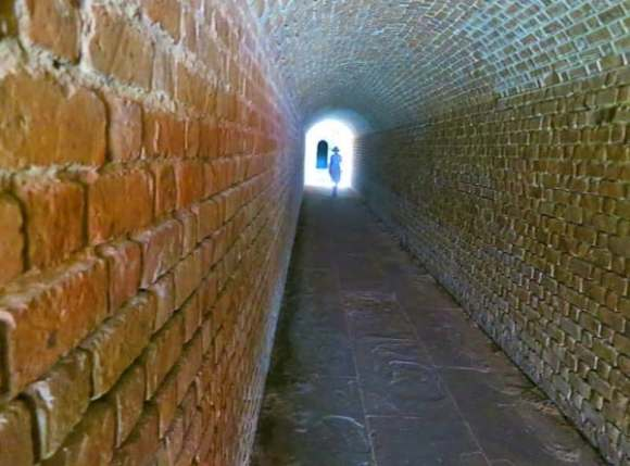 Fort Clinch on Ameila Island is a massive and well-preserved Civil War-era fort.