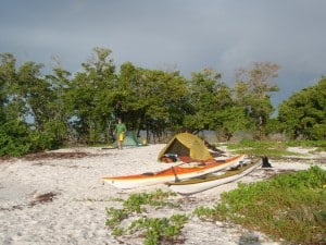 Camping on Tiger Key in the Ten Thousand Islands