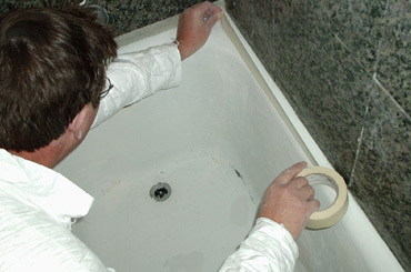 bathtub refinishing repairs