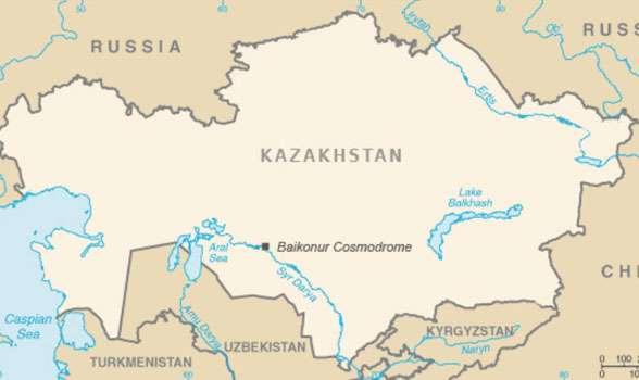 baikonur-map-kazakhstan
