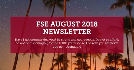Florida Sonrise Emmaus Newsletter