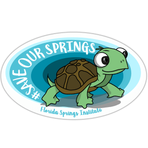 Save Our Springs Turtle Sticker