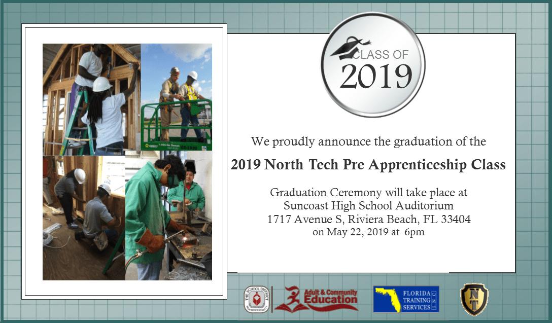 2019 NorthTech Pre-Apprenticeship Graduation!