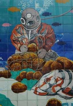 Mosaic of Tarpon Springs Sponge Diver