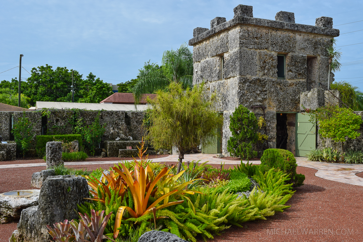 Coral Castle Tower