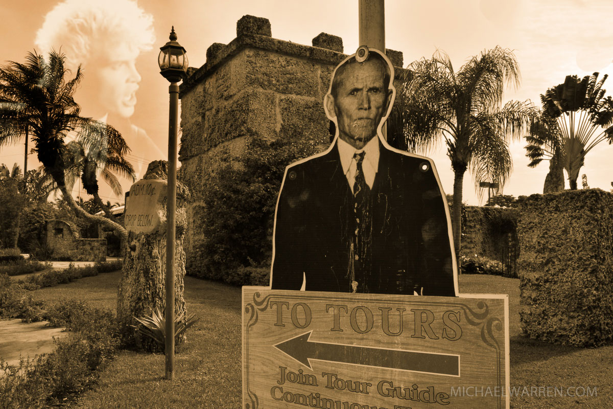 Coral Castle & Billy Idol