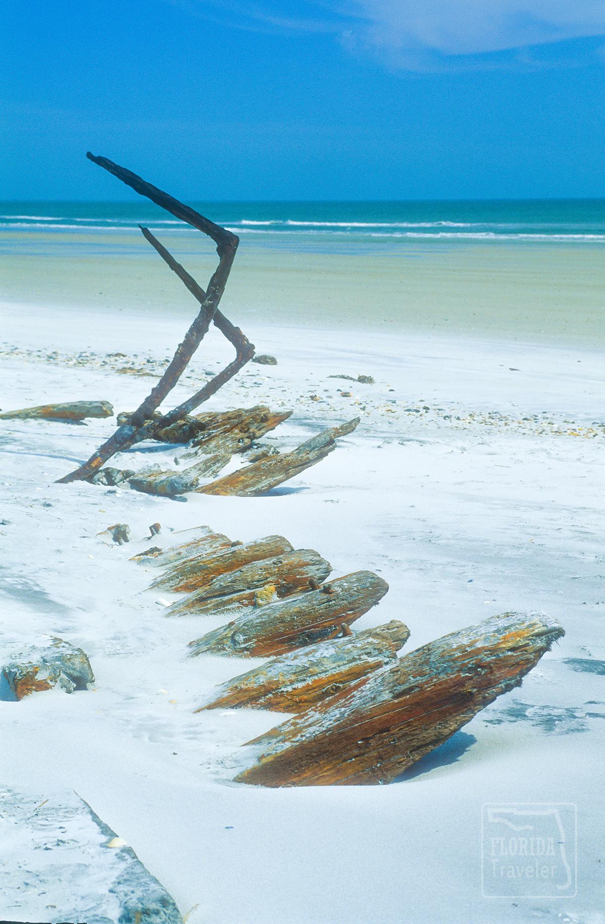 Talbot Island Shipwreck