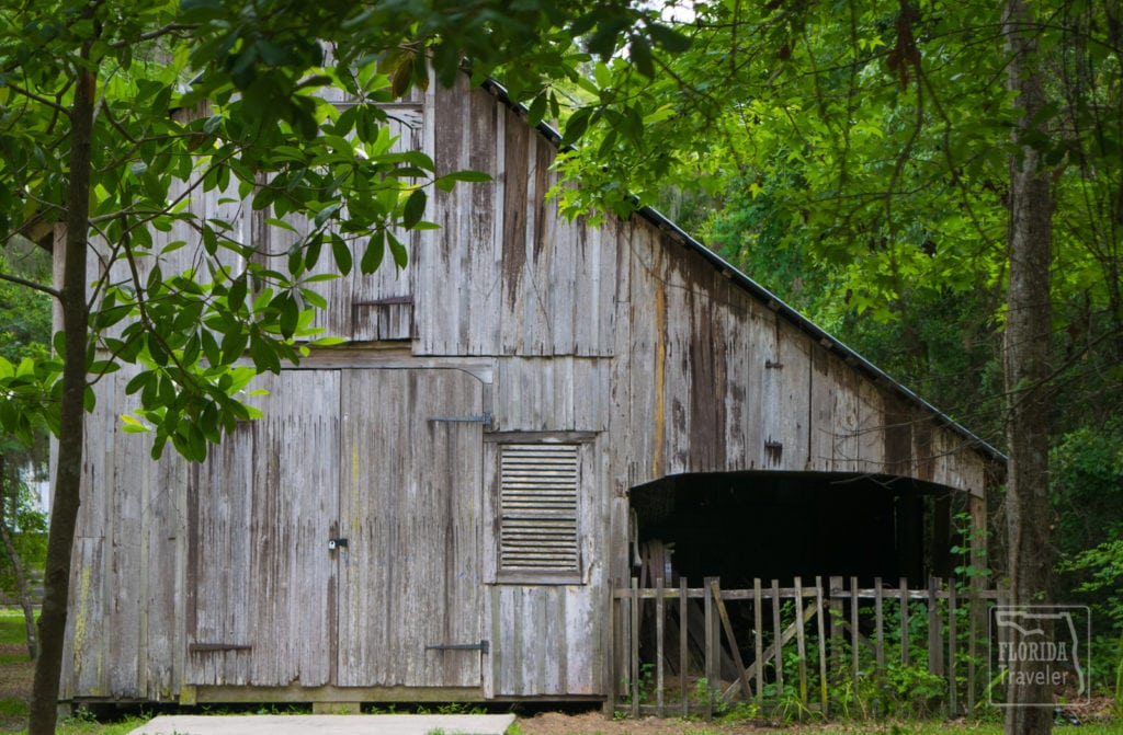 Barn at Walter Jones Park in Mandarin