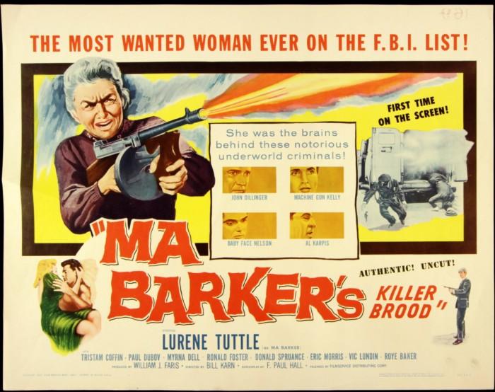 Ma Barker Poster