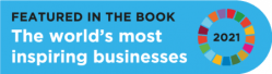 Featured on the book the World's Most Inspiring Businessess