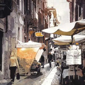 Judy Saltzman - Golden Hour In Verona