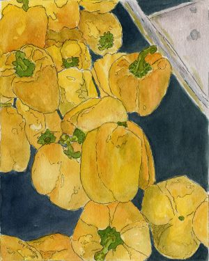 Okerstrom, Evelina - Yellow Peppers