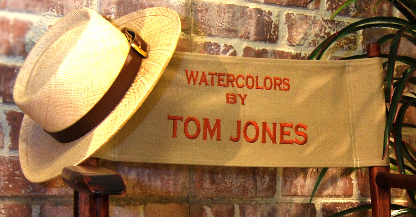 Tom's Logo Hat And Chair