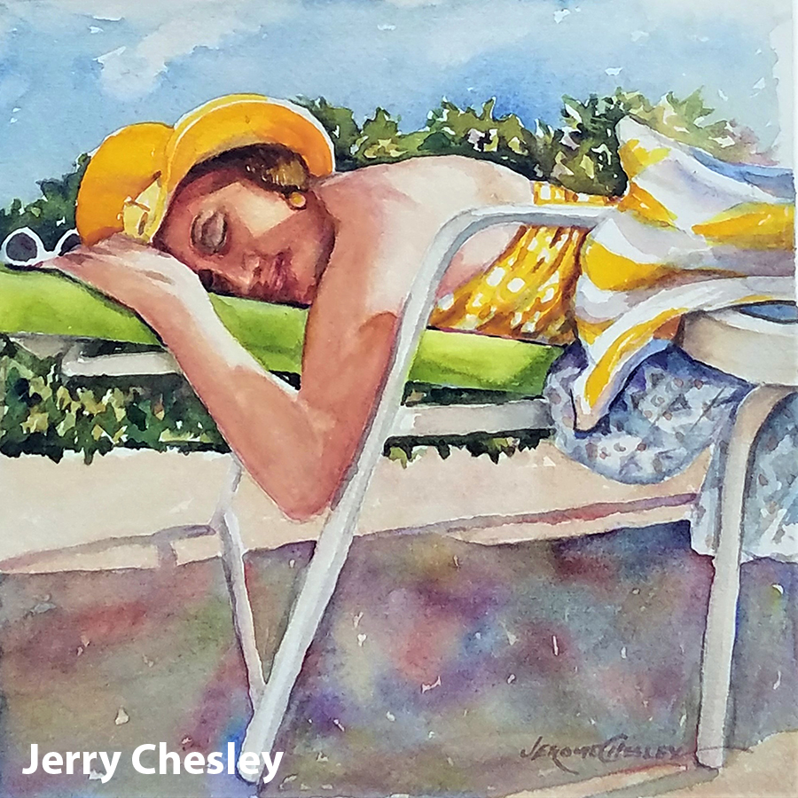 Chesley,Jerome Chillin' At The Pool