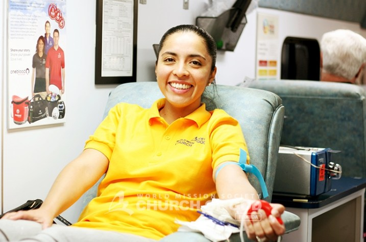 world mission society church of god in miami, oneblood, blood drive, volunteer donors