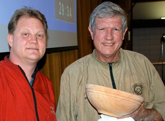 James and Al with finished 20 bowl.JPG