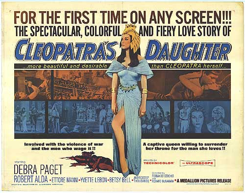 Affiche Cleopatra's Daughter