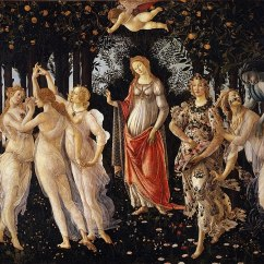Le Printemps, 1478-1482, Andrea Botticelli, Offices, Florence