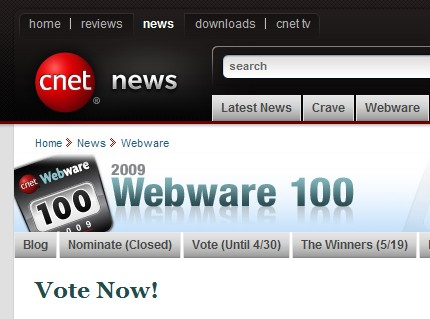 Webware - bunuri online, la Cnet.