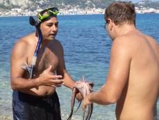 Prima lectie in tainele pescuitului de caracatite