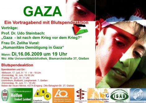 Das Plakat zur Veranstaltung